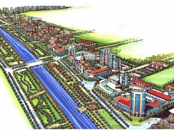 [河南]商业综合体建设设计方案文本(三个方案)