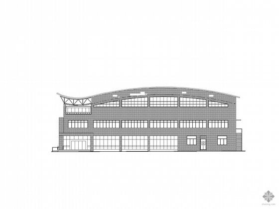 [济南]某区检察院附属楼建筑结构电气设备网架施工图
