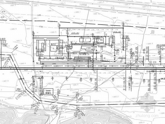 [青海]铁路车站总体平面布置图设计