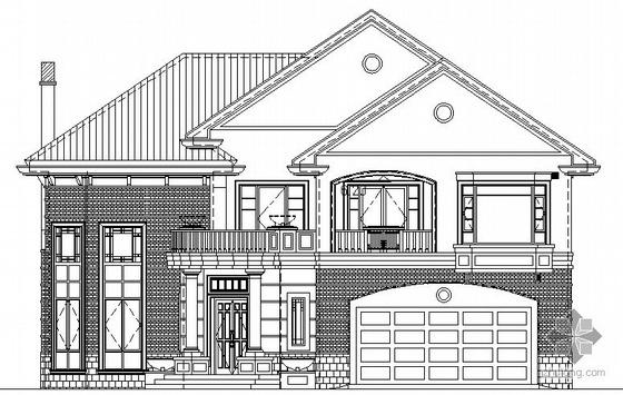 [沈阳]某二层小别墅建筑施工图