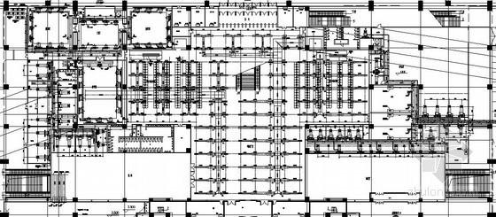 [黑龙江]车站暖通设计施工图(低速喷口送风 条缝送风)