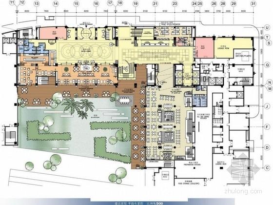 [无锡]时尚典雅现代风格综合楼装修设计方案