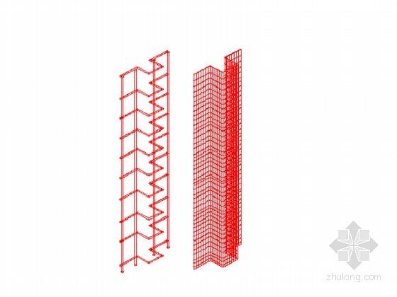 [山东]地下室防水后浇带模板支设新工艺施工工法