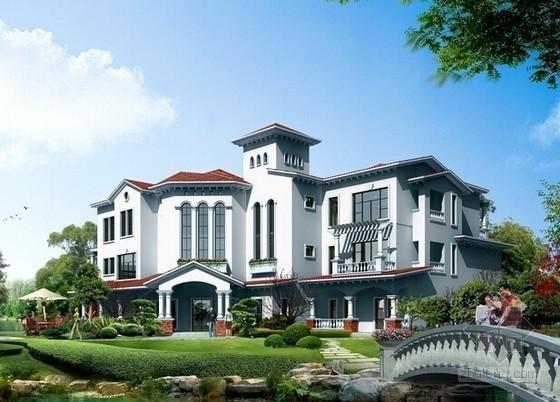 [毕业设计]3层别墅项目建筑工程投标书(施工组织设计 清单报价)103页