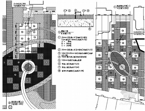 [武汉]滨水广场园林景观工程扩初图
