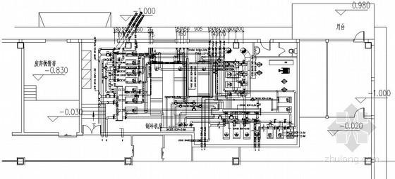 工业建筑暖通空调机房设计施工图集(6种建筑)