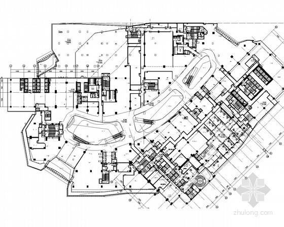 [广州]多层商业裙楼暖通空调系统设计施工图(大院作品)