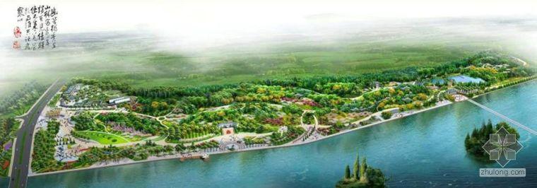 山东临淄公园配套建筑设计