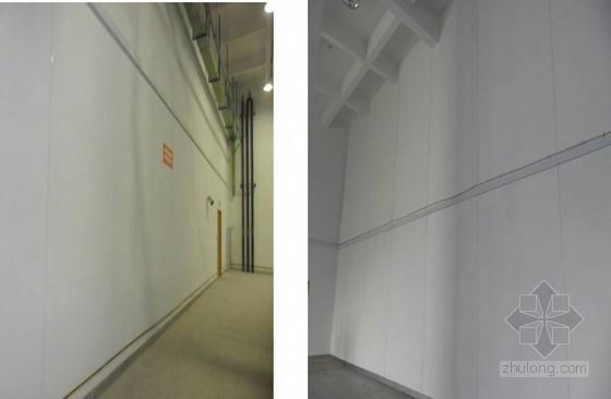 超长轻质隔墙面层防裂施工工艺