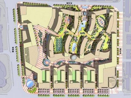 [上海]知名地块城市商业街景观规划项目概念设计