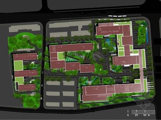 [杭州]智慧山水高新科技办公区景观设计方案