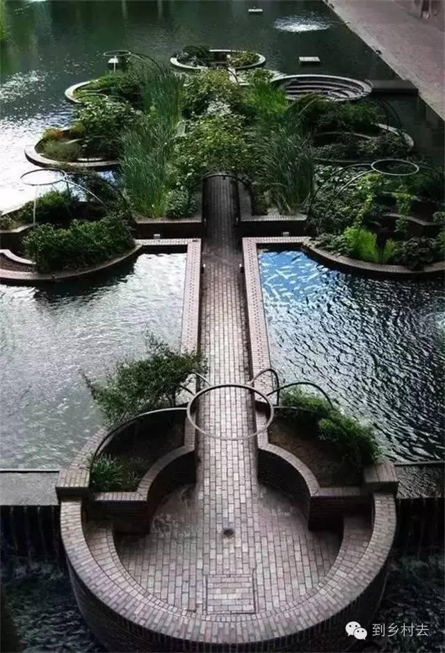在休闲农庄和民宿设计中,有一种下沉式庭院创意