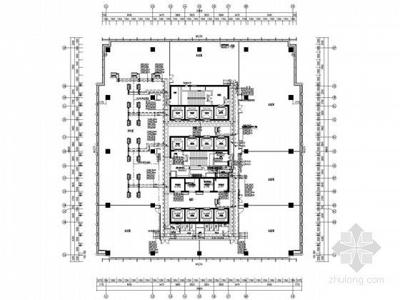 [重庆]200米商业综合楼空调水系统施工图(20万平米,制冷机房,锅炉房)