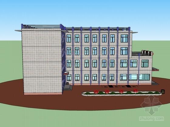 现代建筑SketchUp模型下载-现代建筑