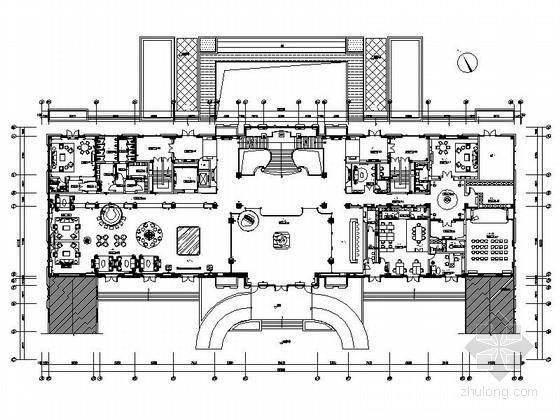 [常州]酒店级奢华会所室内装修图(含效果实景)