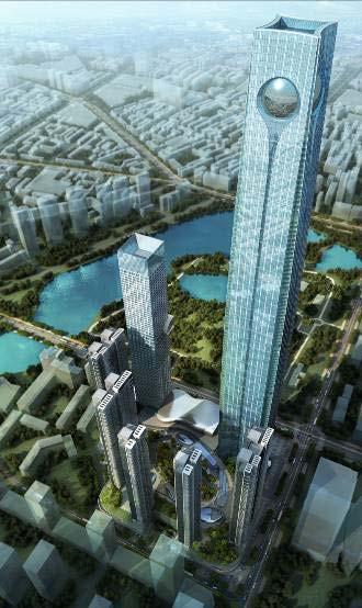 沈阳宝能金融中心住宅塔楼结构设计