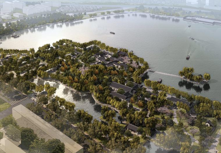 [山东]大明湖风景名胜区建筑设计方案文本