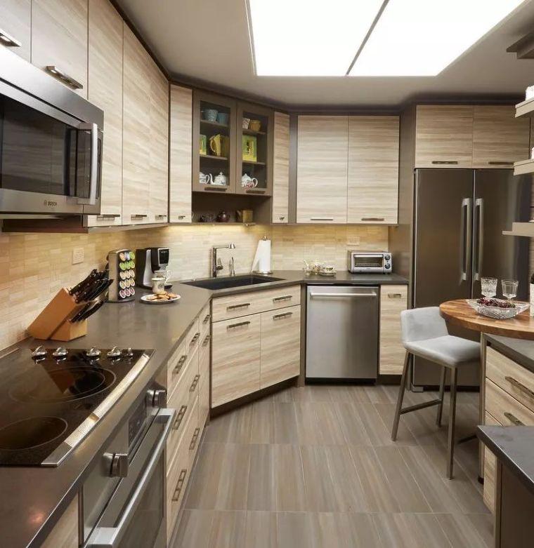 这样设计厨房,美观又实用,果断收藏~_17