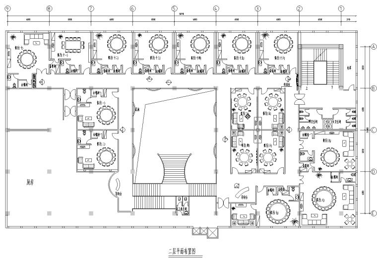 [广东]深圳某酒店中餐厅设计施工图