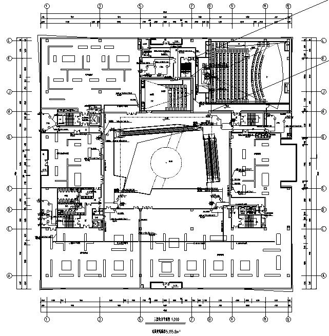 浙江省核电科技馆电气施工图纸