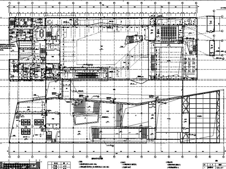 安徽古生物博物馆室外给排水施工图