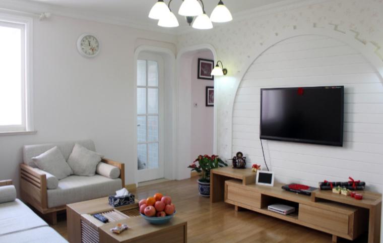 86平老房改造二室一厅田园风格实景图