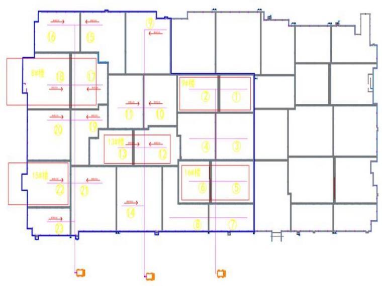 大型生活住宅筏板及核心筒区域大体积混凝土施工方案