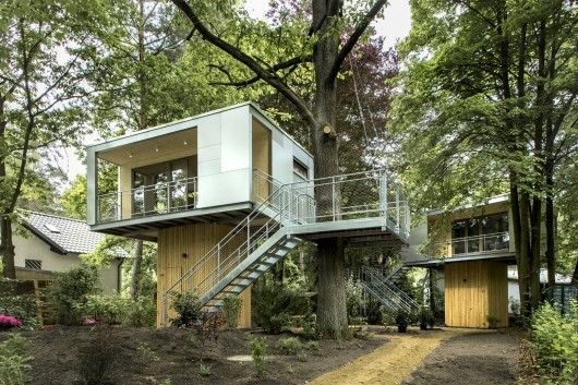 德国城市树屋建筑设计 ByBaumraum_6