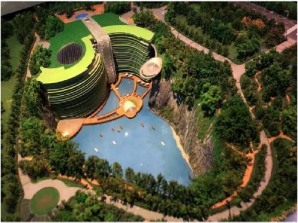 上海世贸深坑酒店:一个令世界为之惊叹的建筑奇迹!