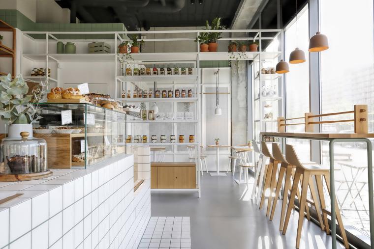 清新自然的Bio面包店