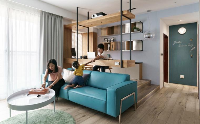 新竹现代风亲子公寓-3