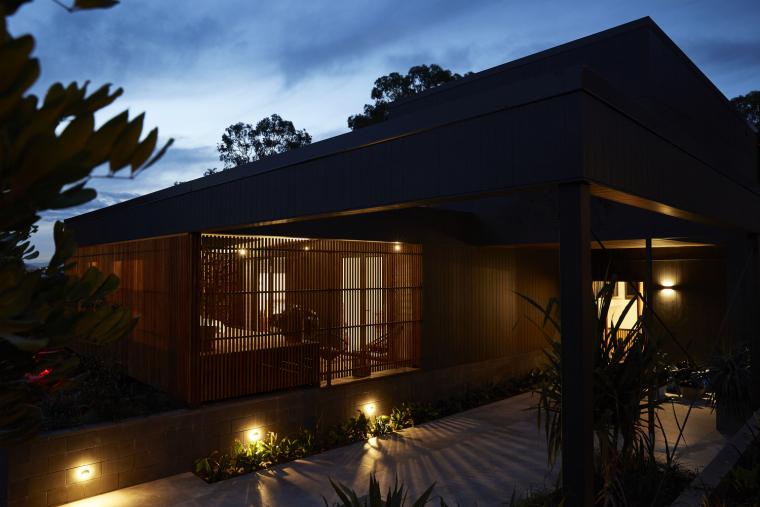 澳大利亚木结构Coorparoo宜居住宅