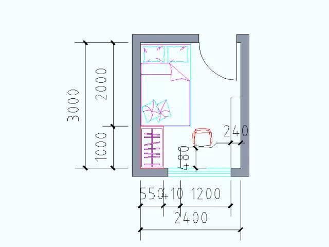 住宅户型的合理尺度(经济型、舒适型、享受型)_13