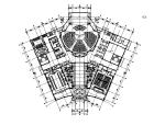 社区服务及物业管理办公室设计施工图