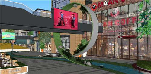 商业街氛围营造|打破空间,打造另类购物体验——梅澜坊商业街之-36