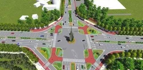 国外四种新型交叉口的设计与应用