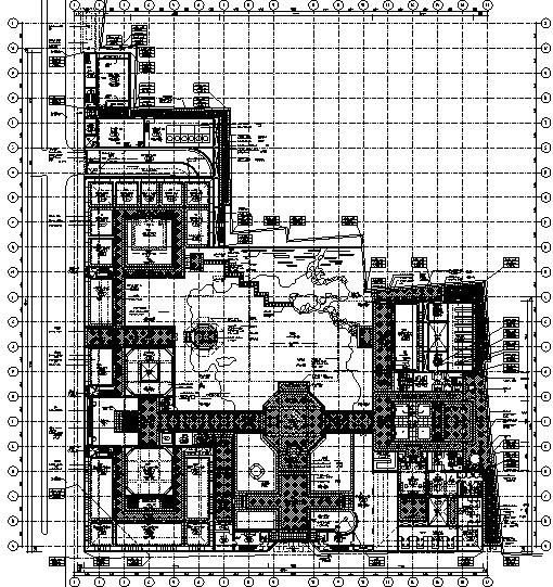 贝聿铭大师苏州博物馆全套CAD