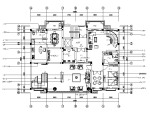 【苏州】新中式风格别墅样板房设计CAD施工图(含效果图实景图)