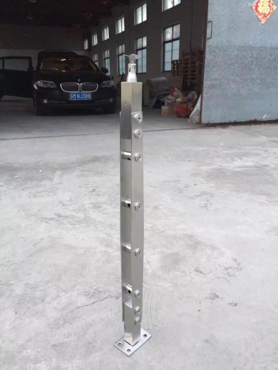 天波全部型号定制穿管子立柱厂家直销 质量保证