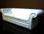 欧式皮沙发3D模型下载