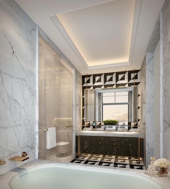 [上海]新古典多户型别墅样板间设计方案(含效果图+施工图+物料表