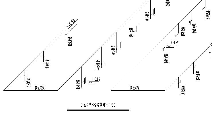 某市场给排水平面图_6
