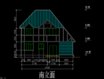 CAD绘图教程——建筑立面图绘制