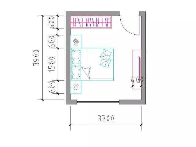 住宅户型的合理尺度(经济型、舒适型、享受型)_23