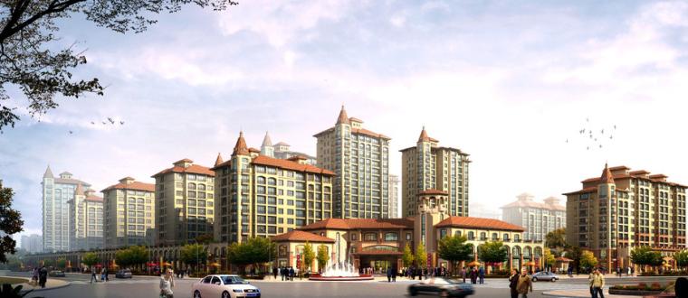 [成都]碧桂园某项目货量区总承包工程(约12.4万平方米,共303