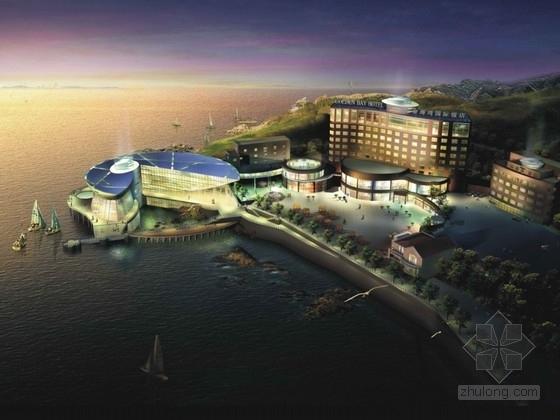[威海]某国际饭店建筑设计方案文本