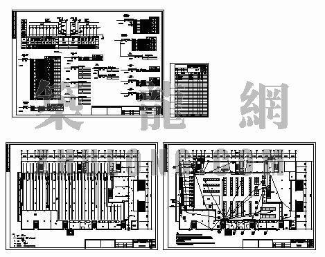 上海市农工商浙江省新昌超市电气平面布置图