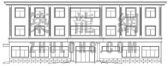 欧式办公楼建筑设计方案