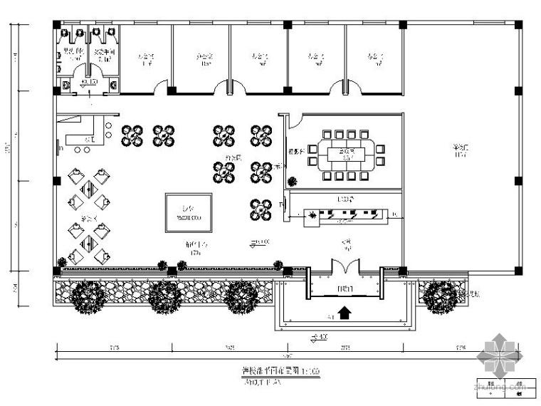 [唐山]某售楼处工程施工图_1