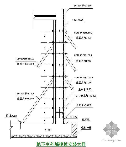 珠海某高层住宅施工组织设计(31层 框剪结构)